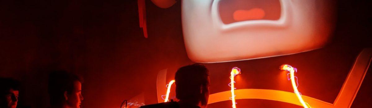 Universal Studios- Ghostbusters Maze Proton Beams